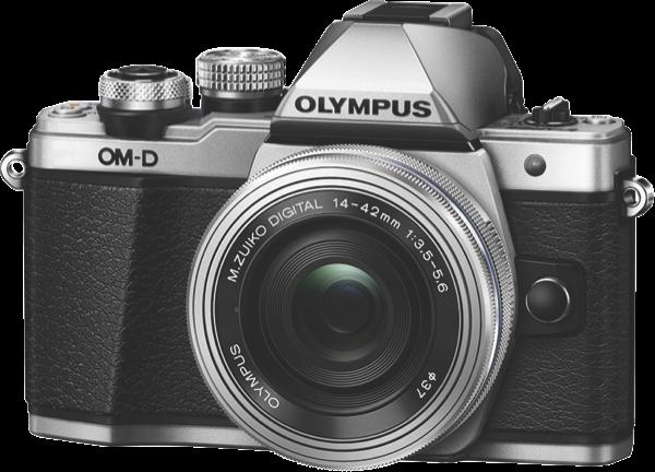 Olympus OM-D E-M10 Mark II Mirrorless Camera - Silver OM-D E-M10 Mark II SLK (Silver)