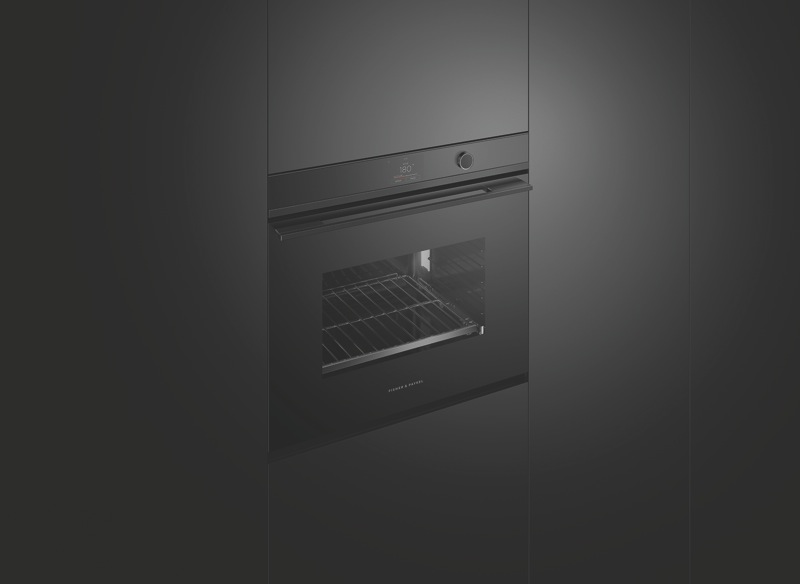 Fisher & Paykel 76cm Built-In Pyrolytic Oven - Black OB76SDPTDB1