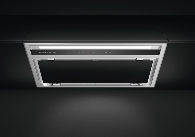 Fisher & Paykel 60cm Integrated Rangehood - Stainless Steel & Glass