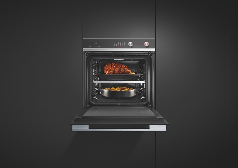 Fisher & Paykel 60cm Built-in Pyrolytic Oven - Stainless Steel OB60SD11PX1