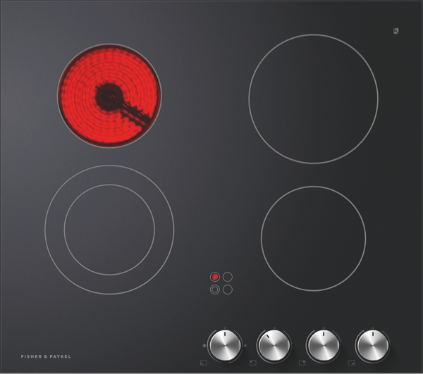 Fisher & Paykel 60cm Ceramic Cooktop - Black CE604CBX2