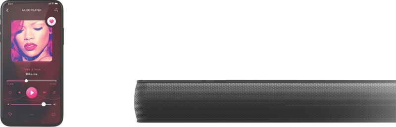 TCL 2.1 Channel Soundbar with Wireless Subwoofer TS7010