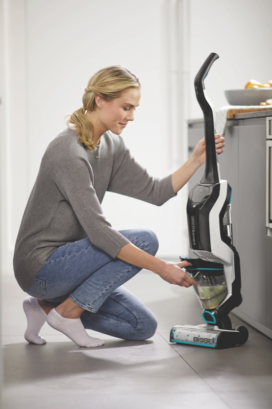 Bissell Crosswave Max Cordless Multi-Surface Cleaner - Black/Blue 2765F