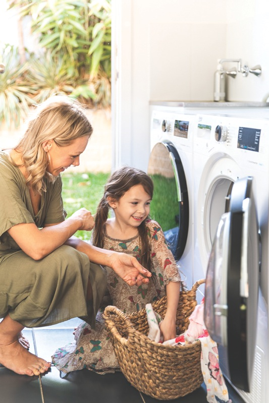 Beko 8.5kg Front Load Washer with Autodosing BFL853ADW