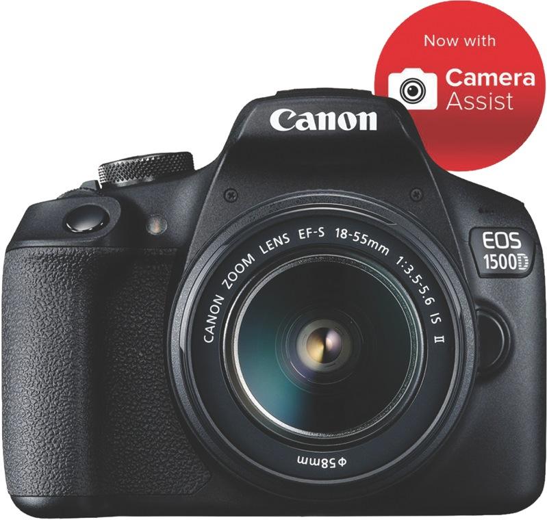 Canon EOS 1500D Digital SLR Camera + 18-55mm Lens Kit 1500DKB