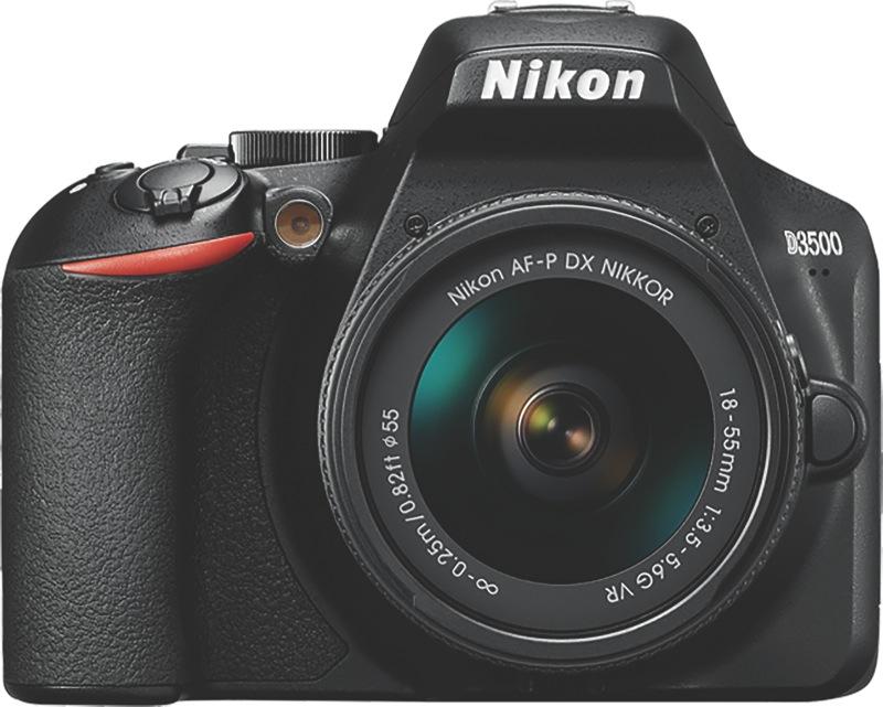 Nikon D3500 Digital SLR Camera + 18-55mm Lens Kit D3500