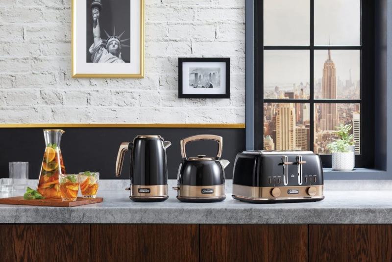 Sunbeam New York 4 Slice Toaster - Black Bronze TA4440KB
