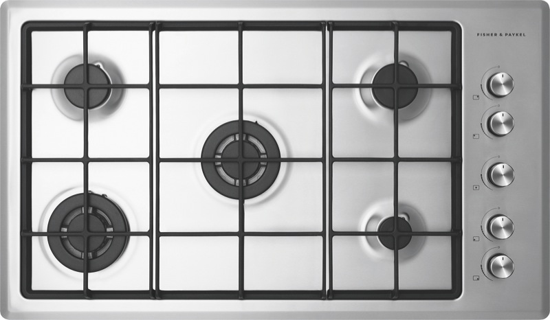 Fisher & Paykel 90cm Gas Cooktop - Stainless Steel CG905CNGX2