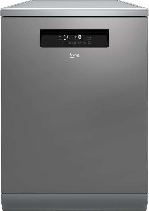 Beko 60cm Freestanding Dishwasher - Stainless Steel BDF1630X