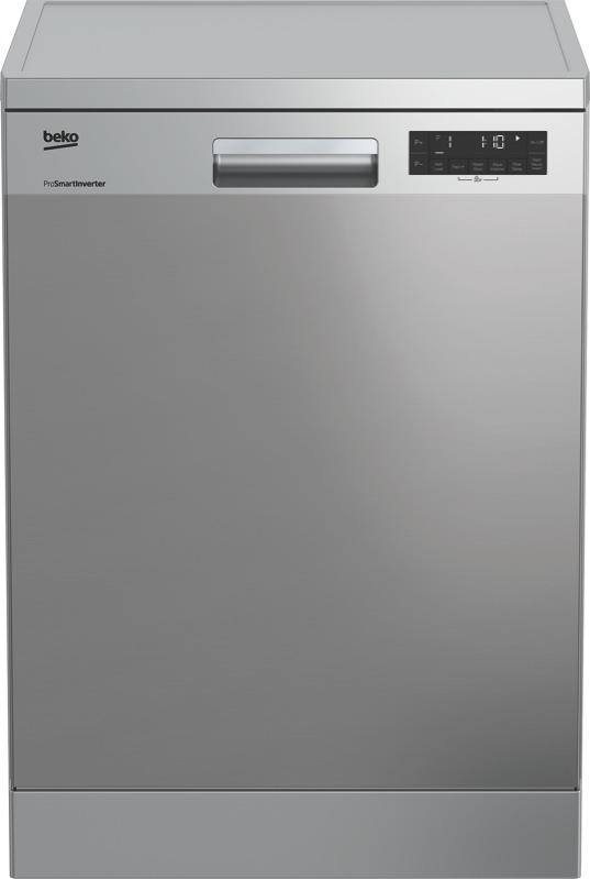 Beko 60cm Freestanding Dishwasher - Stainless Steel BDF1620X
