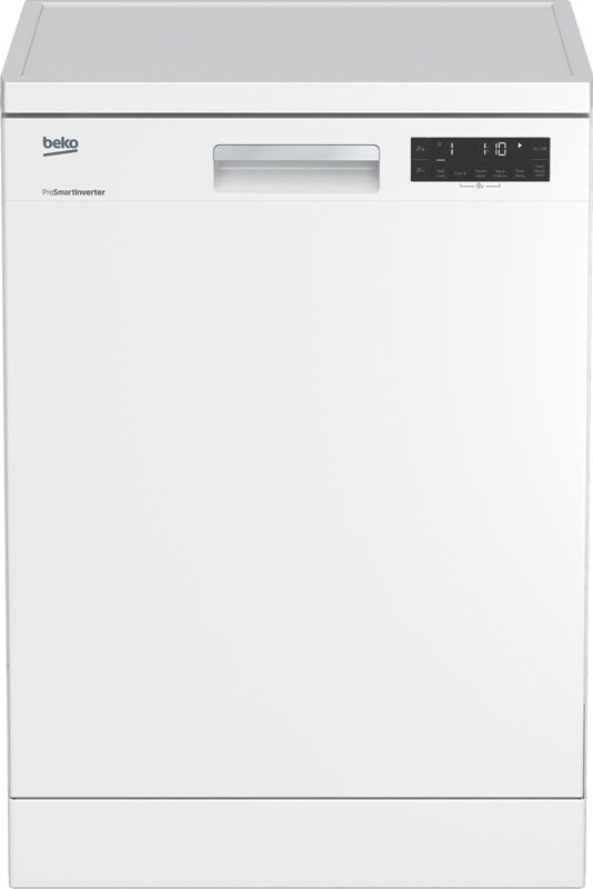 Beko 60cm Freestanding Dishwasher - White BDF1620W