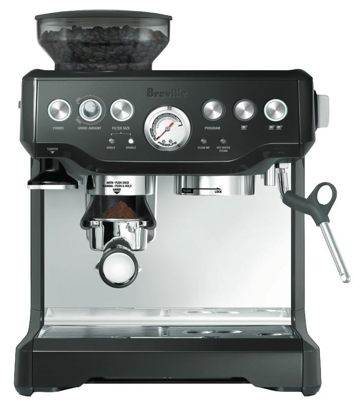 Breville Barista Express Pump Espresso Coffee Machine - Black BES870BKS