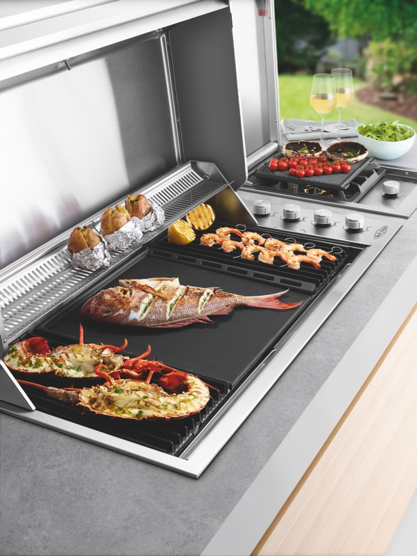 Beefeater Signature ProLine 106cm 6-Burner Built-In BBQ - Stainless Steel BSH158SA