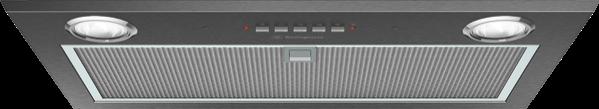 Westinghouse 52cm Integrated Rangehood - Dark Stainless Steel WRI524BB