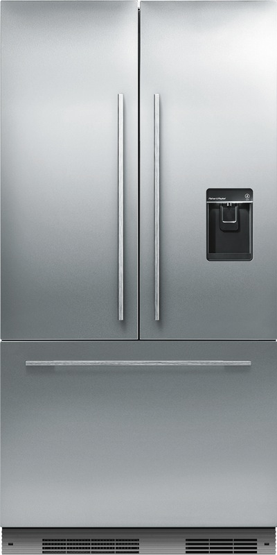 Fisher & Paykel 525L Slide In French Door Fridge RS90AU1
