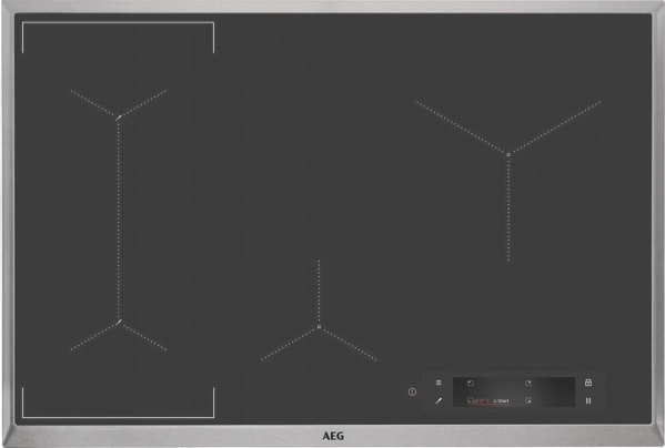 AEG 80cm SensePro Induction Cooktop IAE84881XB