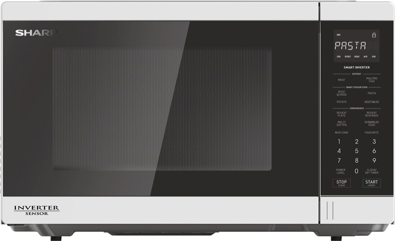 1200W Inverter Microwave - White R350EW