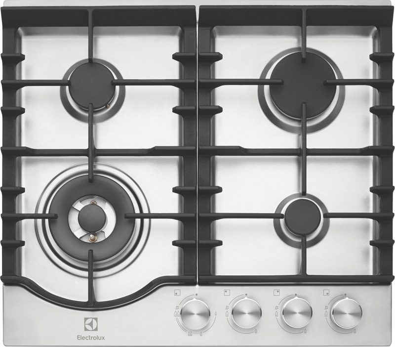 Electrolux 60cm Gas Cooktop - Stainless Steel EHG645SD