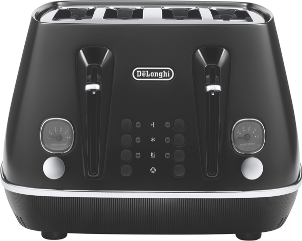 DeLonghi Distinta Moments 4 Slice Toaster CTIN4003BK