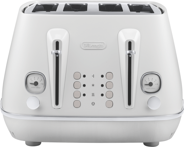 DeLonghi Distinta Moments 4 Slice Toaster CTIN4003W