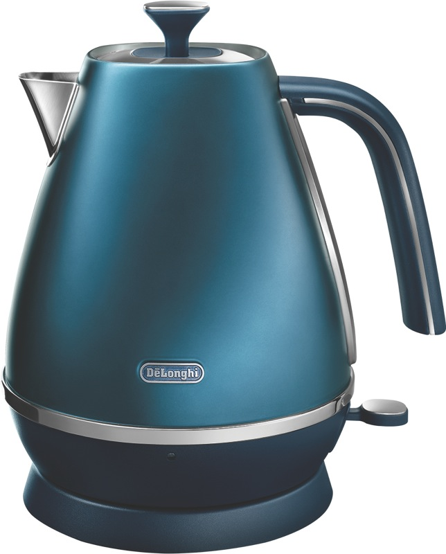 DeLonghi 1.7L Distinta Flair Kettle - Blue KBI2001BL