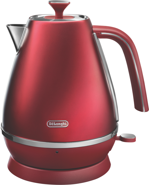 DeLonghi 1.7L Distinta Flair Kettle - Red KBI2001R