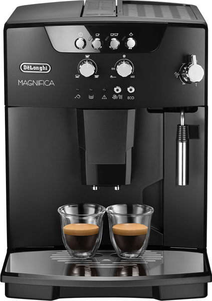 DeLonghi Magnifica Fully Automatic Coffee Machine - Black ESAM04110B