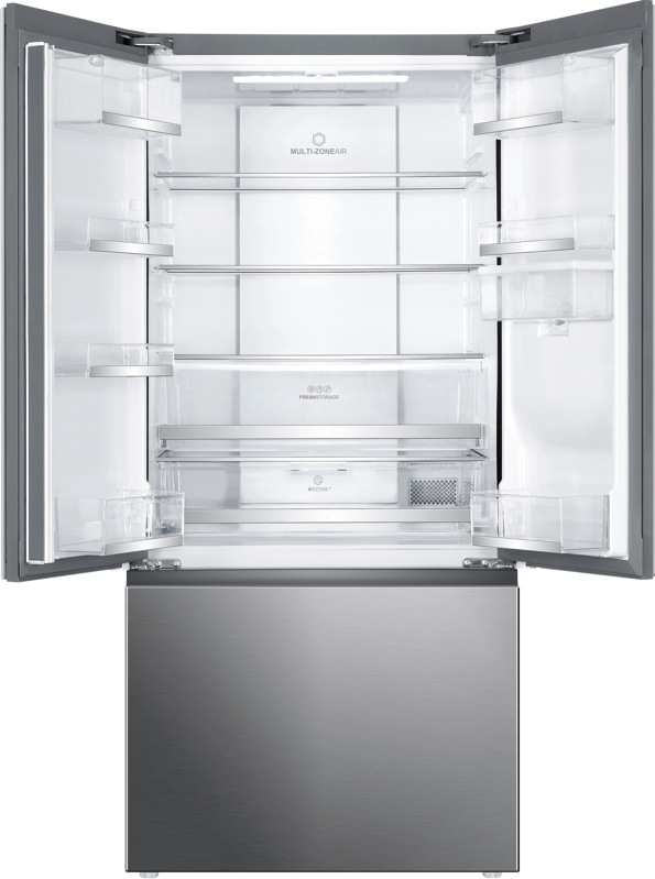 Haier 514L French Door Fridge - Satina HRF520FHS