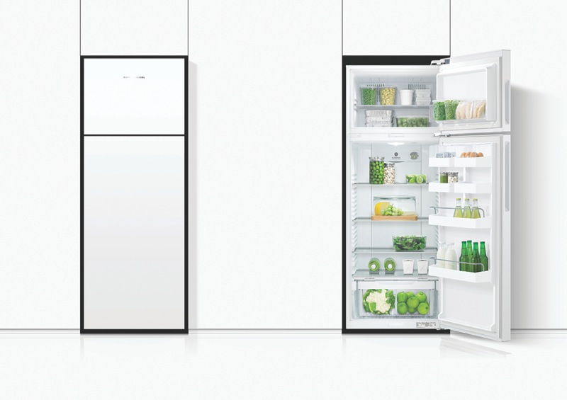 Fisher & Paykel 411L ActiveSmart™ Top Mount Fridge - Right Hinge RF411TRPW6