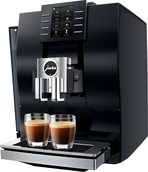 Jura Z6 Coffee Machine - Diamond Black 15263