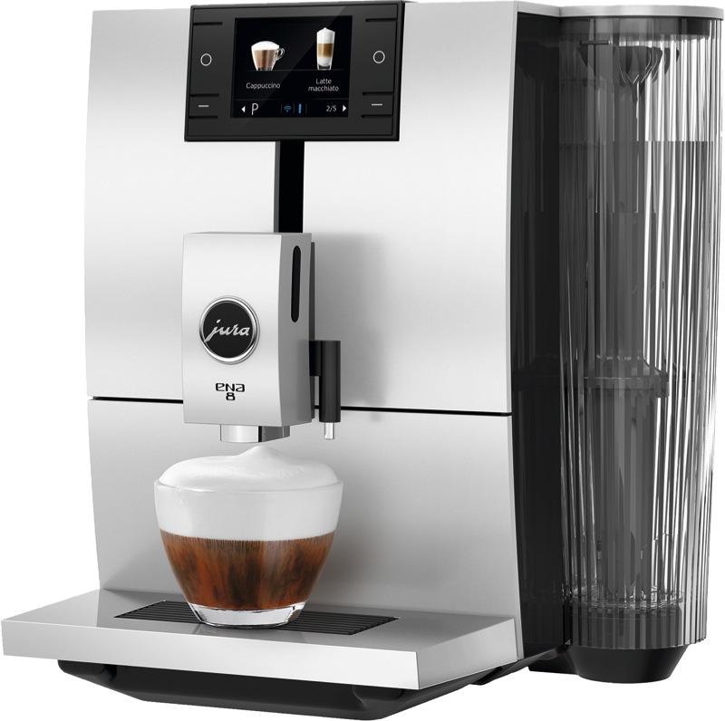 Jura ENA 8 Coffee Machine - Metropolitan Black 15253