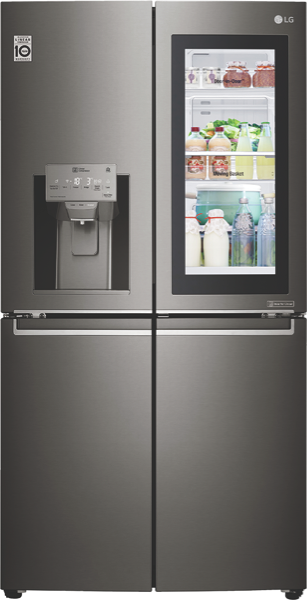 LG 708L French Door Fridge with InstaView Door-In-Door® GFV708BSL