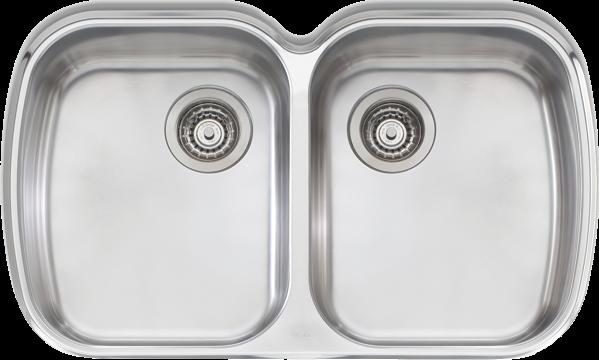 Oliveri Monet Double Bowl Undermount Sink MO70U