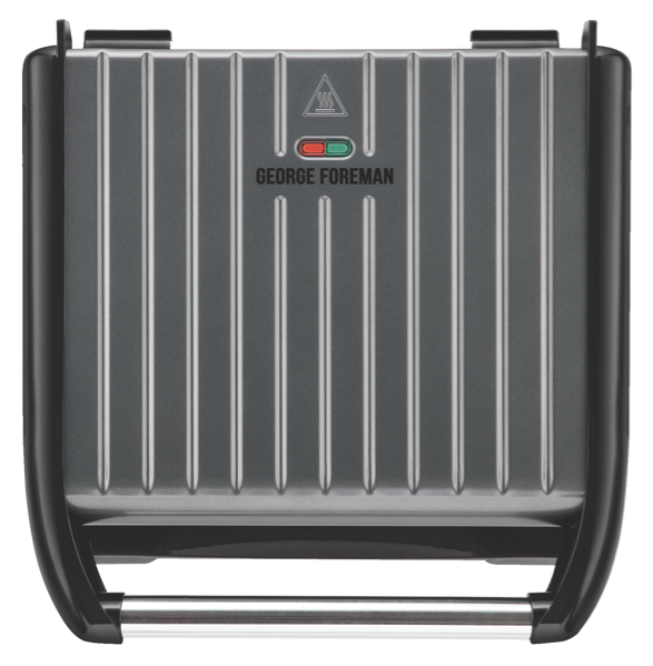 George Foreman Entertaining Steel Grill - Steel Grey GR25051AU