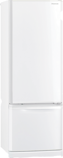 Mitsubishi Electric 390L Bottom Mount Fridge MRBF390EKWA