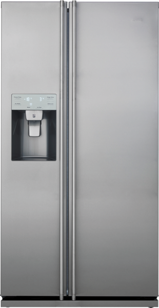 Smeg 608L Side By Side Fridge with Ice & Water SR611X