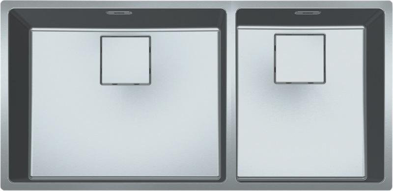 Franke Centinox Minimalist Double Bowl Sink CMX2205034