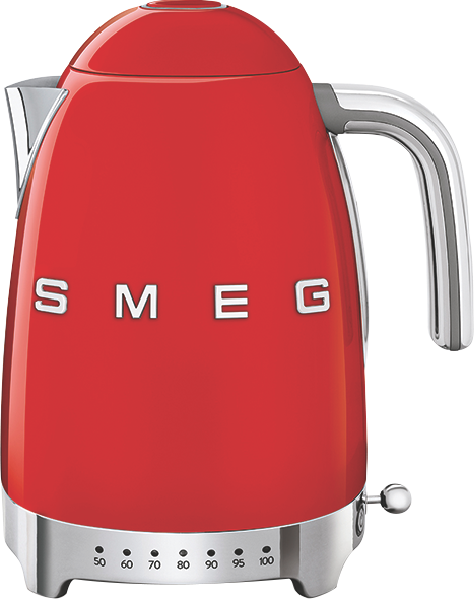 Smeg Variable Temperature Kettle - Red KLF04RDAU