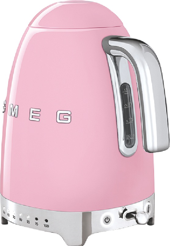 Smeg Variable Temperature Kettle - Pink KLF04PKAU