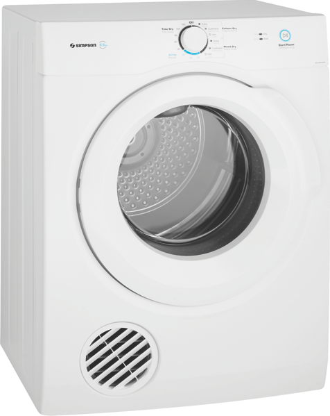 Simpson 5.5kg Vented Dryer SDV556HQWA