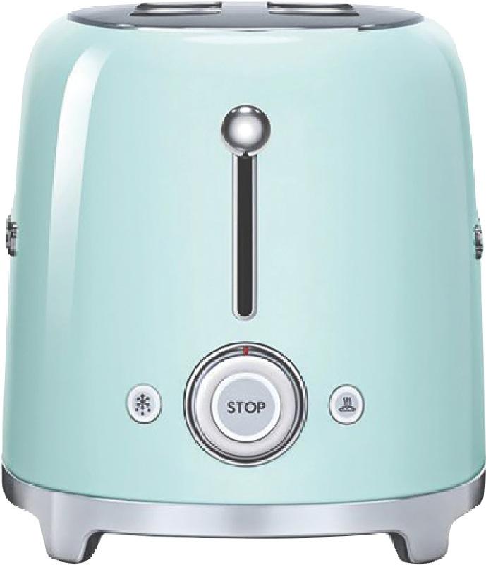 Smeg 4 Slice Toaster Green TSF02PGAU
