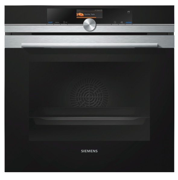 Siemens 60cm Combi Pyrolytic Oven With Pulse Steam HR676G8S2A