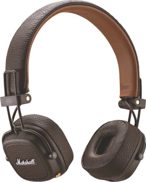 Marshall Major III Bluetooth Headphones - Brown 04092187