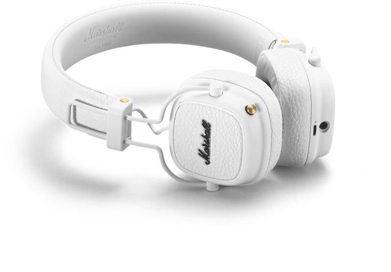 Marshall Major III Bluetooth Headphones - White 04092188