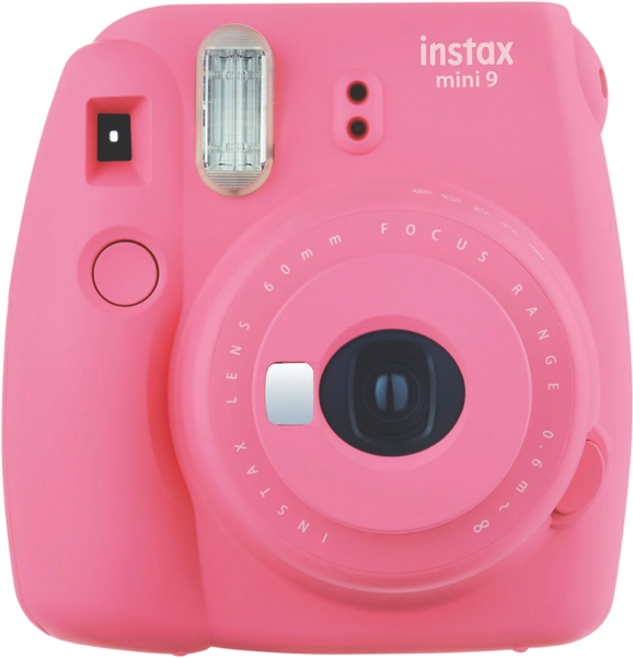 Fujifilm Instant Camera Instax Mini 9 Camera Flamingo Pink