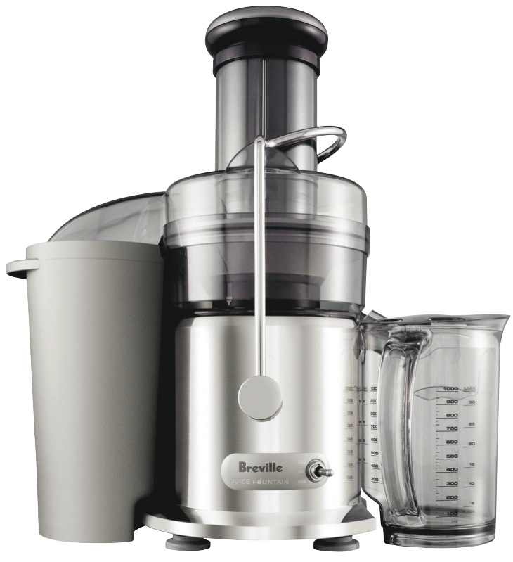 Breville The Juice Fountain Max Juicer - Stainless Steel BJE410CRO