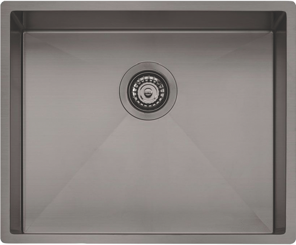 Oliveri Spectra Single Bowl Gunmetal Sink SB50GM