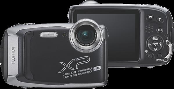 Fujifilm XP140 DARK SILVER 74365