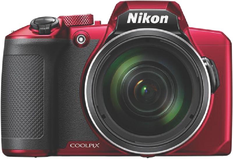 Nikon Coolpix B600 Compact Digital Camera – Red VQA091AA