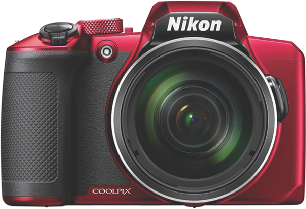 Nikon Coolpix B600 Compact Digital Camera – Red VQA091AA